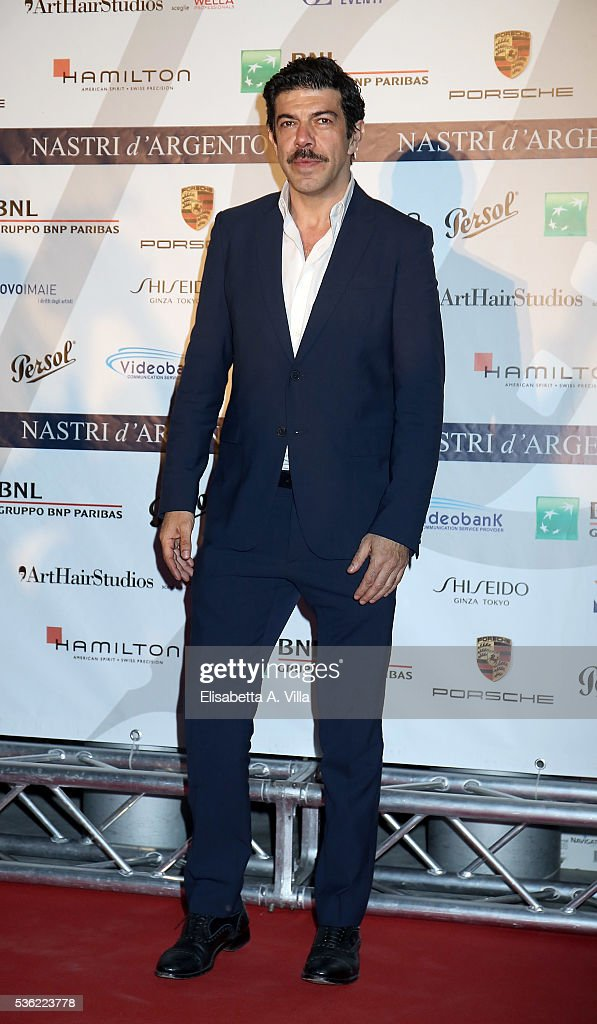 Pierfrancesco Favino attends Nastri D'Argento 2016 Award Nominations at Maxxi on May 31, 2016 in Rome, Italy.