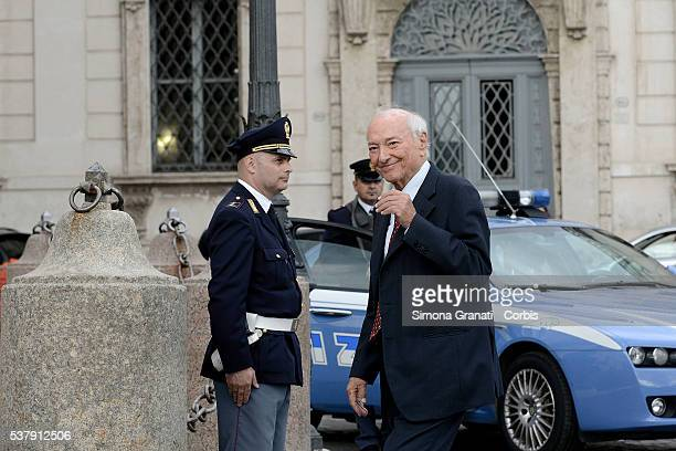 Piero Angela Traditional reception at the Quirinale for the anniversary of the Italian Republic with people from the world of politics culture...