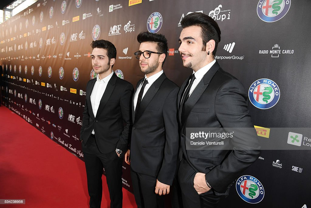<a gi-track='captionPersonalityLinkClicked' href=/galleries/search?phrase=Piero+Barone&family=editorial&specificpeople=5945024 ng-click='$event.stopPropagation()'>Piero Barone</a>, <a gi-track='captionPersonalityLinkClicked' href=/galleries/search?phrase=Gianluca+Ginoble&family=editorial&specificpeople=5945022 ng-click='$event.stopPropagation()'>Gianluca Ginoble</a> and <a gi-track='captionPersonalityLinkClicked' href=/galleries/search?phrase=Ignazio+Boschetto&family=editorial&specificpeople=5945023 ng-click='$event.stopPropagation()'>Ignazio Boschetto</a> of Il Volo walk the red carpet of Bocelli and Zanetti Night on May 25, 2016 in Rho, Italy.