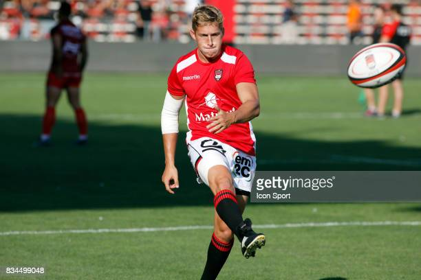 Piero Dominguez of Lyon during the preseason match between Rc Toulon and Lyon OU at Felix Mayol Stadium on August 17 2017 in Toulon France