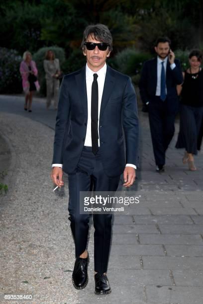 Pierpaolo Piccioli attends McKim Medal Gala at Villa Aurelia on June 7 2017 in Rome Italy