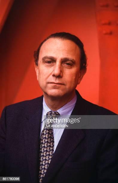 Pierre Aidenbaum chef d'entreprise le 25 octobre 1992 à Paris France