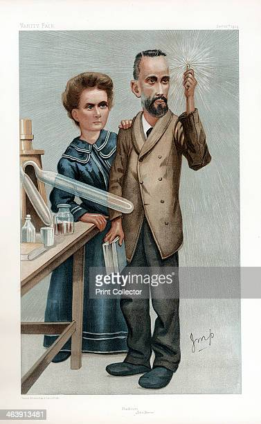Pierre and Marie Curie French physicists 1904 Polishborn Marie Curie and her husband Pierre continued the work on radioactivity started by Henri...