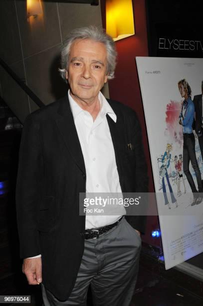 Pierre Arditi attends the Tu Peux Garder un Secret Paris Premiere At the Cinema Biarritz Champs Elysees on May 05 2008 in Paris France