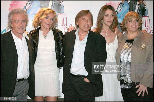 Pierre Arditi Juliette Arnaud Alexandre Arcady Linda Hardy Laurence Boccolini at Paris Premiere Of The Film Tu Peux Garder Un Secret At L' Elysee...