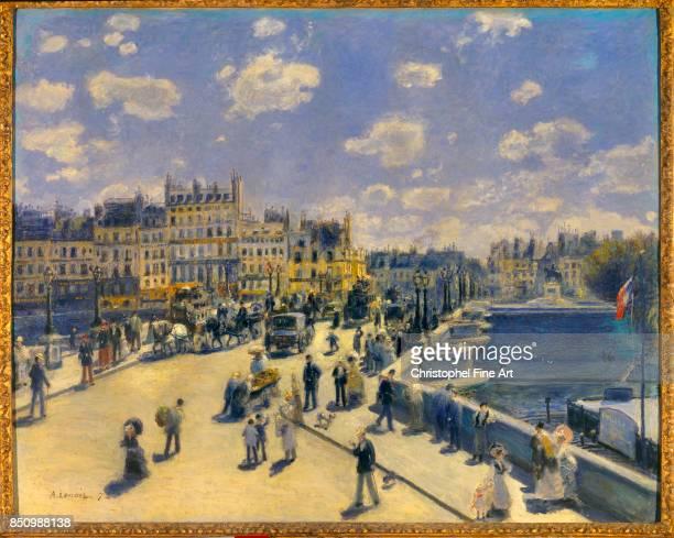 Pierre Auguste Renoir Pont Neuf Paris 1872 Oil on canvas 075 x 093 m Washington National Gallery of Art