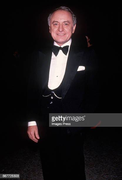 Pierre Berge circa 1983 in New York City