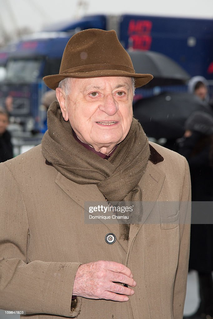Pierre Berger attends the Christian Dior Spring/Summer 2013 Haute-Couture show as part of Paris Fashion Week at on January 21, 2013 in Paris, France.