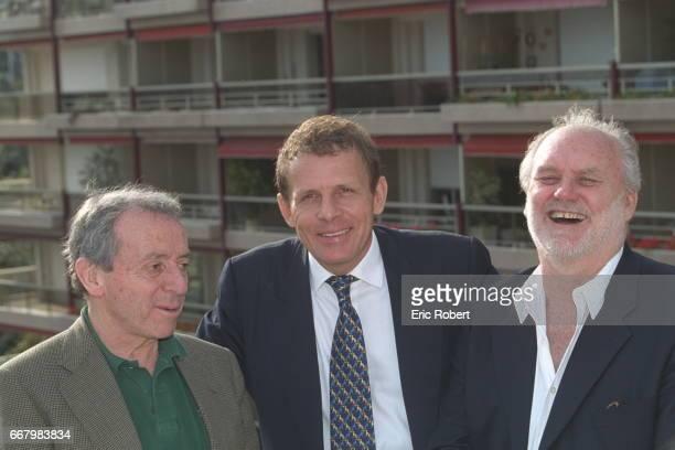 Pierre Bouteiller Patrick Poivre d'Arvor and Christian Brincourt