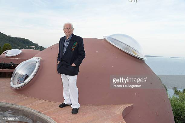 Pierre Cardin attends the Dior Croisiere 2016 at Palais Bulle on May 11 2015 in Theoule sur Mer France