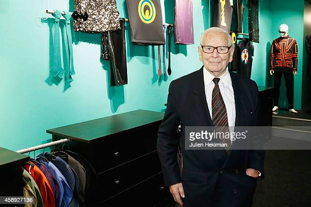 Pierre Cardin attends the opening cocktail of his museum on November 13 2014 in Paris France