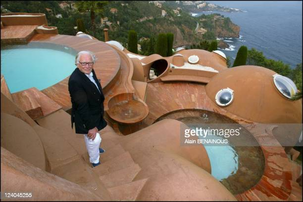 Pierre Cardin celebrates his 80th birthday and 50 years of fashion designing In France In May 2003 Cardin with PortlaGalere down below