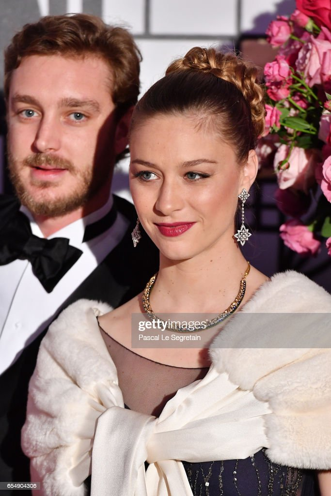 Monaco Rose Ball 2017 Rose Ball 2017 To Benefit The Princess Grace Foundation In Monaco : News Photo