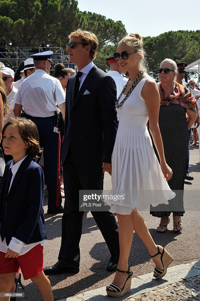 pierre-casiraghi-and-beatrice-borromeo-walk-on-the-palace-place-the-picture-id480422688