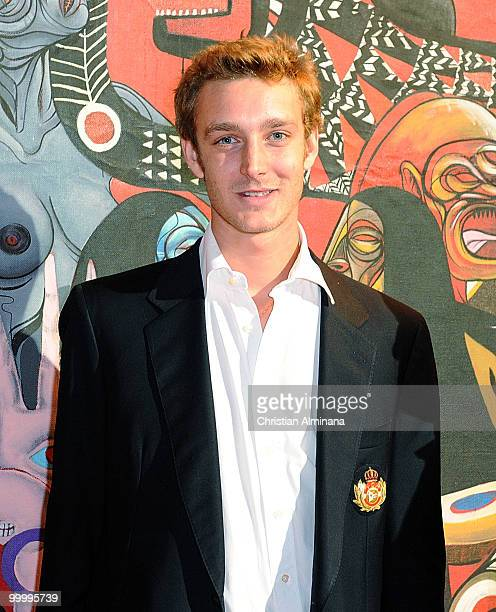 Pierre Casiraghi attends Graffiti Au Yacht Club De Monaco paint exhibition on May 19 2010 in Monaco Monaco