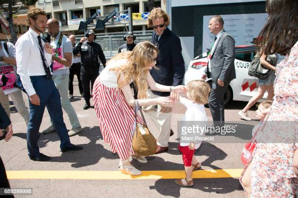 Pierre Casiraghi Beatrice Borromeo Andrea Casiraghi Alexandre Andrea Stefano Casiraghi India Casiraghi and Tatiana Santo Domingo attend the Monaco...
