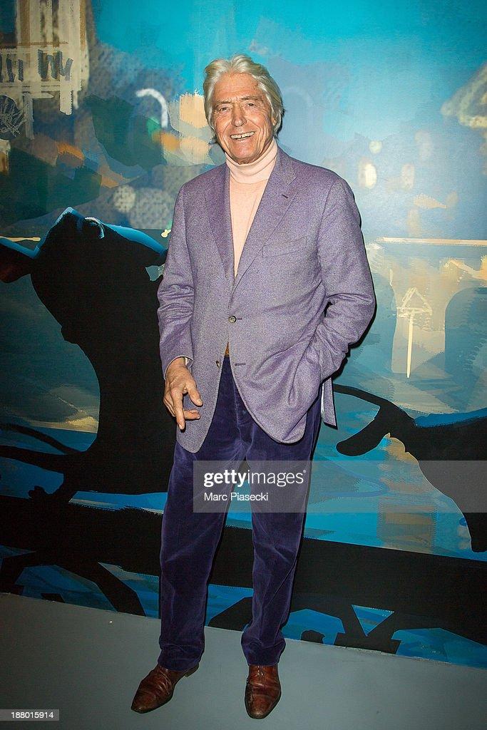 Pierre Cornette de Saint-Cyr attends the 'Pixar, 25 years of animation' exhibition on November 14, 2013 in Paris, France.