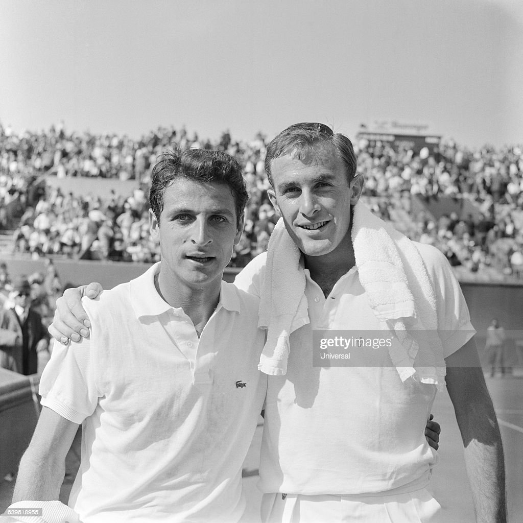 Tennis Pierre Darmon and John New be