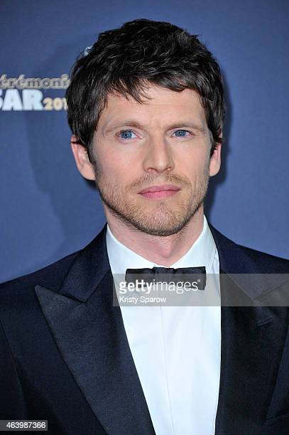 Pierre Deladonchamps attends the 40th Cesar Film Awards at Theatre du Chatelet on February 20 2015 in Paris France