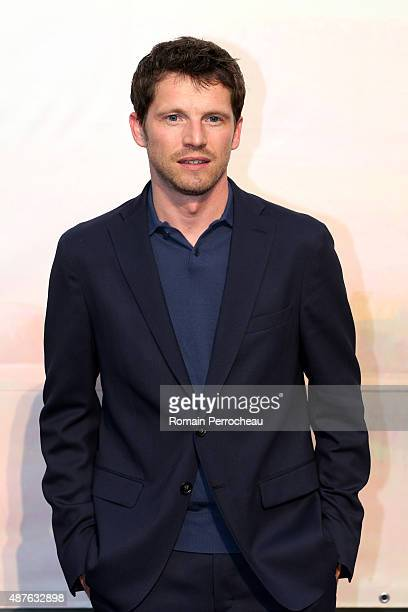 Pierre Deladonchamps attends the 'Trepalium' photocall as part of the 17th Festival of TV Fiction of La Rochelle on September 10 2015 in La Rochelle...