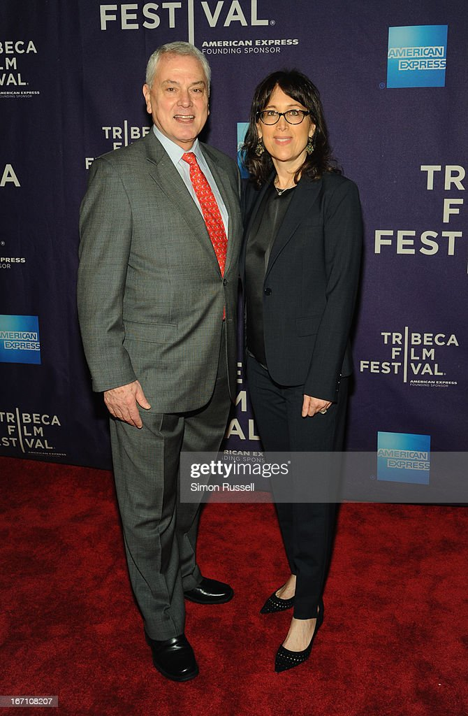 Pierre Dulaine and Diane Nabatoff attend the 'Dancing In Jaffa' World Premiere at the AMC Loews Village 7 during the 2013 Tribeca Film Festival on April 20, 2013 in New York City.