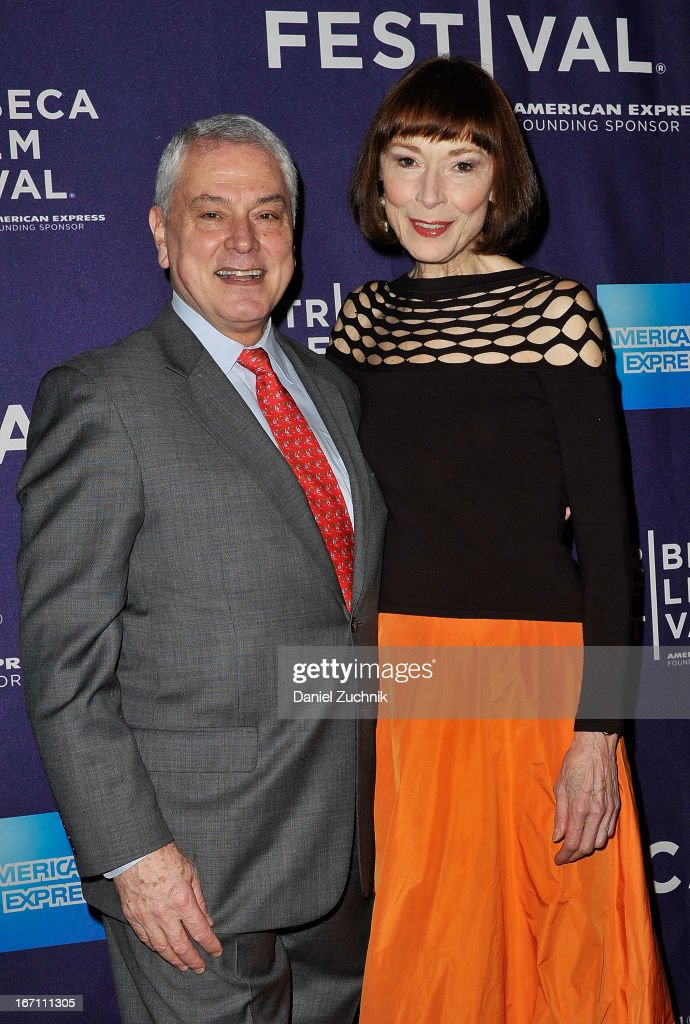 Pierre Dulaine and Karen Akers attend the screening of 'Dancing in Jaffa' during the 2013 Tribeca Film Festival at AMC Loews Village 7 on April 20, 2013 in New York City.