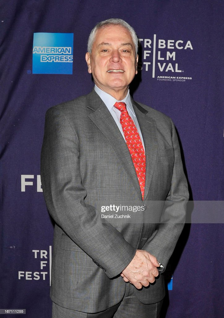 Pierre Dulaine attends the screening of 'Dancing in Jaffa' during the 2013 Tribeca Film Festival at AMC Loews Village 7 on April 20, 2013 in New York City.