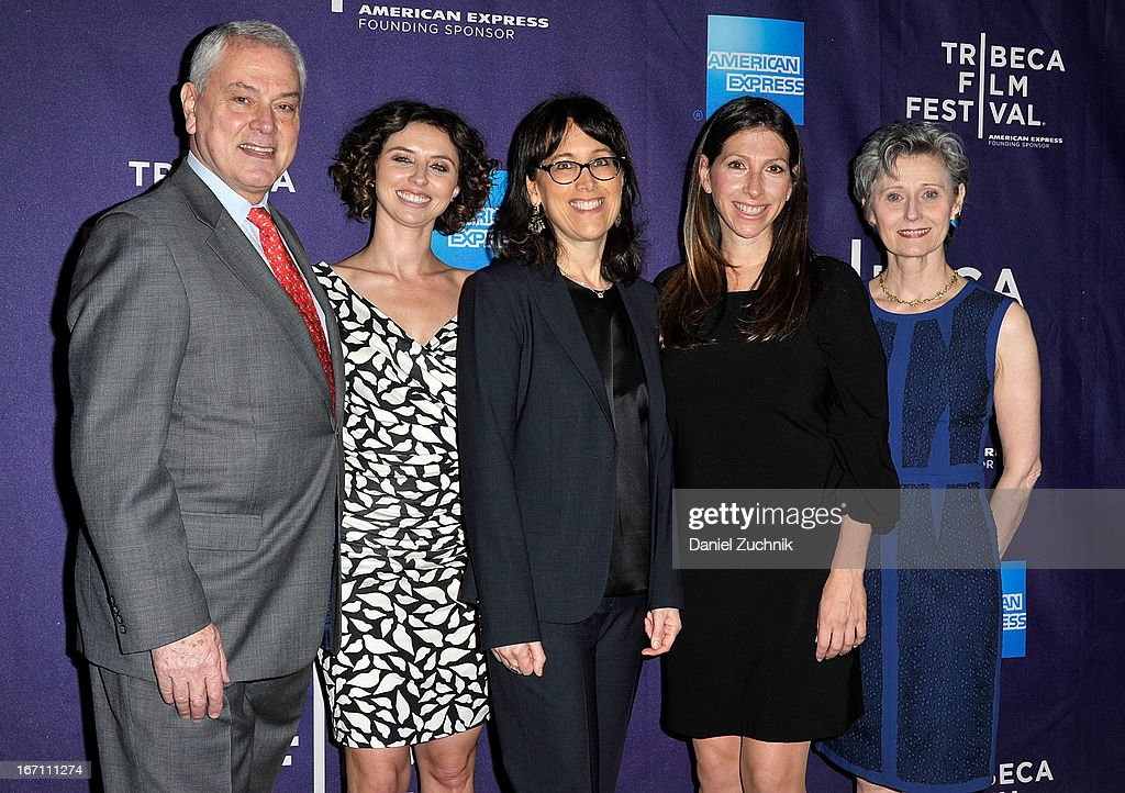 Pierre Dulaine, Neta Zwebner-Zaibert, Diane Nabatoff, Hilla Medalia and Yvonne Marceau attend the screening of 'Dancing in Jaffa' during the 2013 Tribeca Film Festival at AMC Loews Village 7 on April 20, 2013 in New York City.
