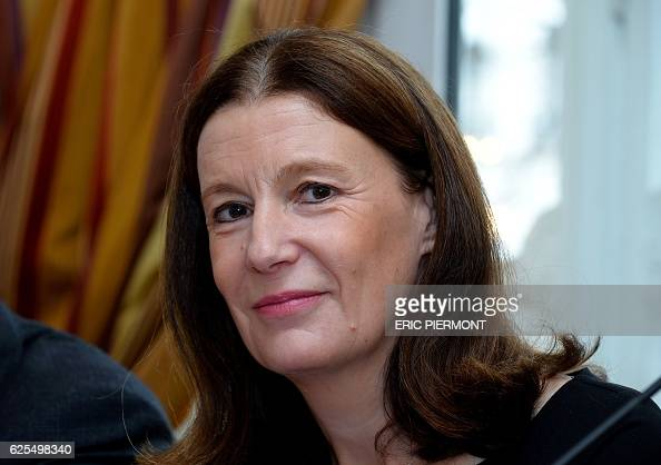 Pierre et Vacances group Deputy Chief Executive Patricia Damerval looks on during a press conference to present the group's 20152016 results in Paris...