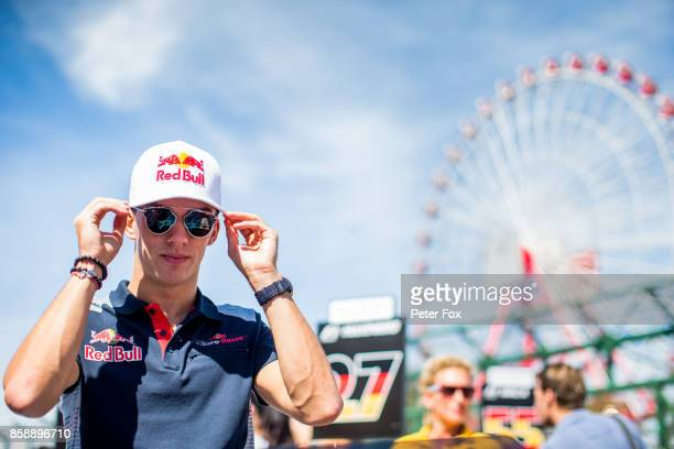 Pierre Gasly of Scuderia Toro Rosso and France during the Formula One Grand Prix of Japan at Suzuka Circuit on October 8 2017 in Suzuka