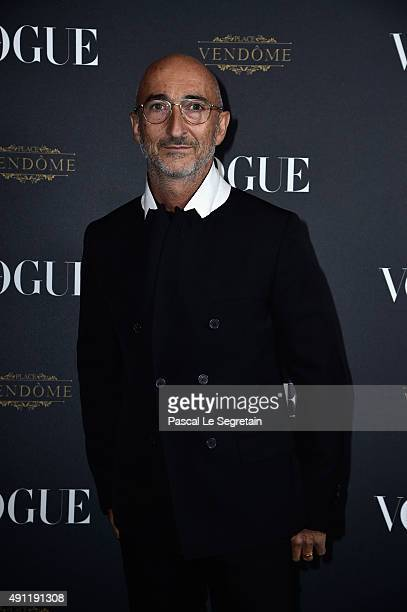 Pierre Hardy attends the Vogue 95th Anniversary Party on October 3 2015 in Paris France