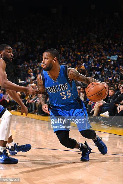 Pierre Jackson of the Dallas Mavericks handles the ball during the game against the Golden State Warriors on December 30 2016 at ORACLE Arena in...