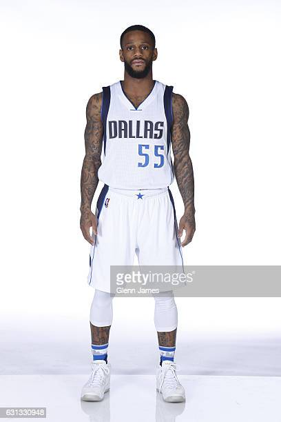 Pierre Jackson of the Dallas Mavericks poses for a photo during his media day on January 4 2017 at the American Airlines Center in Dallas Texas NOTE...