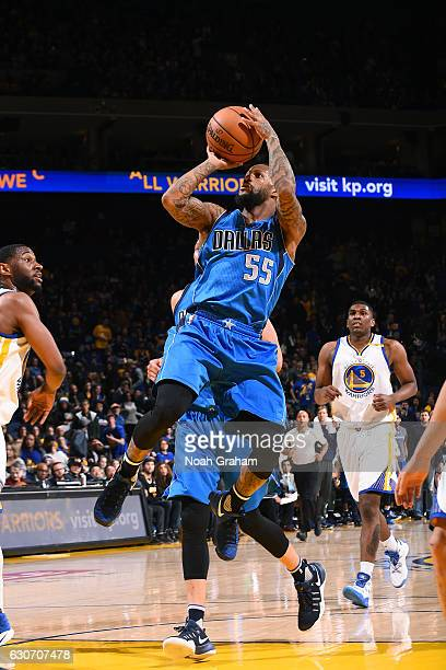 Pierre Jackson of the Dallas Mavericks shoots the ball during the game against the Golden State Warriors on December 30 2016 at ORACLE Arena in...