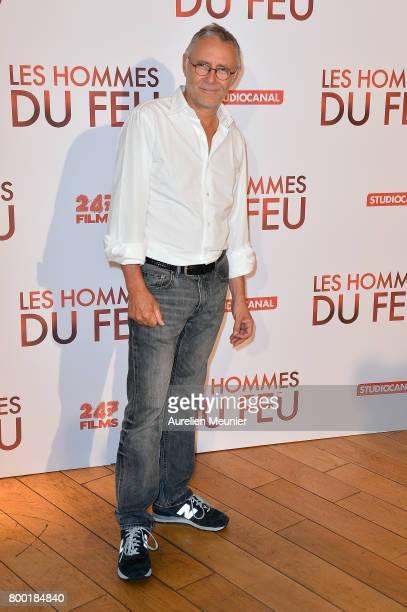 Pierre Jolivet attends the 'Les Hommes du feu' Paris premiere at Cinema Pathe Beaugrenelle on June 23 2017 in Paris France