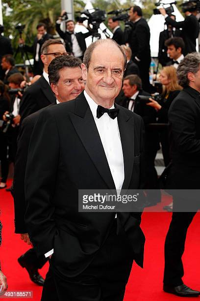 Pierre Lescure attends the Premiere of 'Jimmy's Hall' at the 67th Annual Cannes Film Festival on May 22 2014 in Cannes France