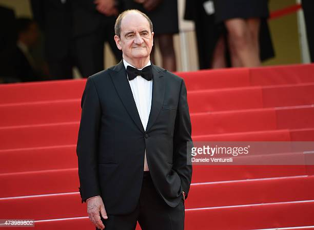 Pierre Lescure attends the 'Sicario' Premiere during the 68th annual Cannes Film Festival on May 19 2015 in Cannes France