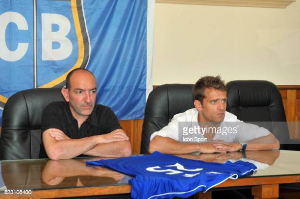 Pierre Marie GERONIMI / Presentation Jerome ROTHEN Nouveau Joueur Bastia pour la saison 2011/2012