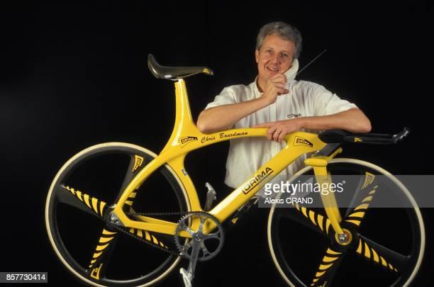 Pierre Martin PDG de l'entreprise dromoise Corima specialisee dans les velos de competition en novembre 1993 en France