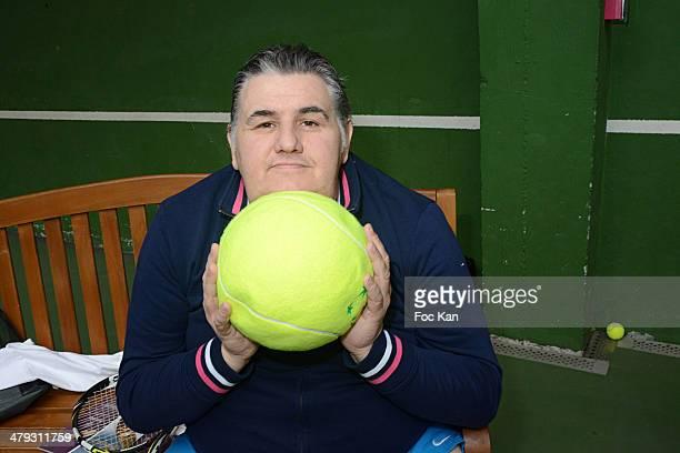 Pierre Menes attends '60 Pour Enfant Star et Match' Auction Cocktail at Tennis Club de Paris on March 17 2014 in Paris France
