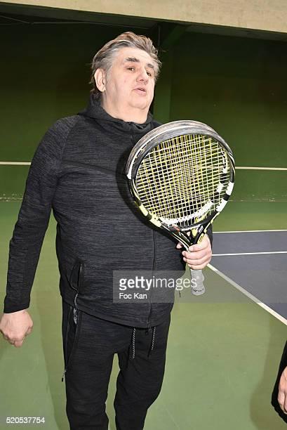 Pierre Menes attends 'Enfant Star et Match' at Tennis Club de Paris on April 11 2015 in Paris France