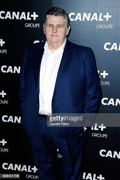 Pierre Menes attends the 'Canal Animators' Party At Manko on February 3 2016 in Paris France