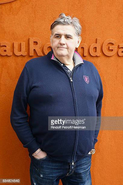 Pierre Menes attends The French Tennis Open Day Seven at Roland Garros on May 28 2016 in Paris France