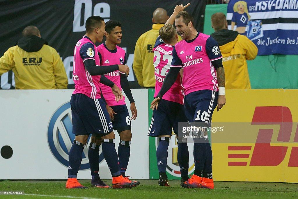 Hallescher FC v Hamburger SV - DFB Cup
