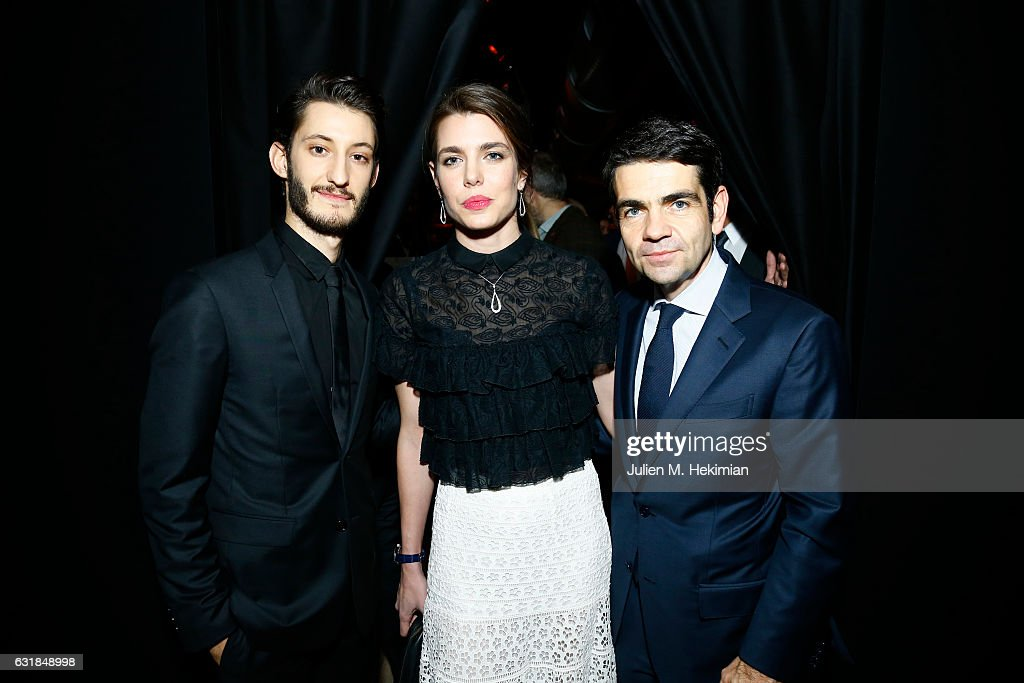pierre-niney-charlotte-casiraghi-and-montblanc-ceo-jerome-lambert-picture-id631848998
