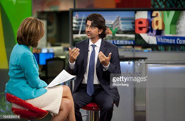 Pierre Omidyar Stock Photos and Pictures Getty Images