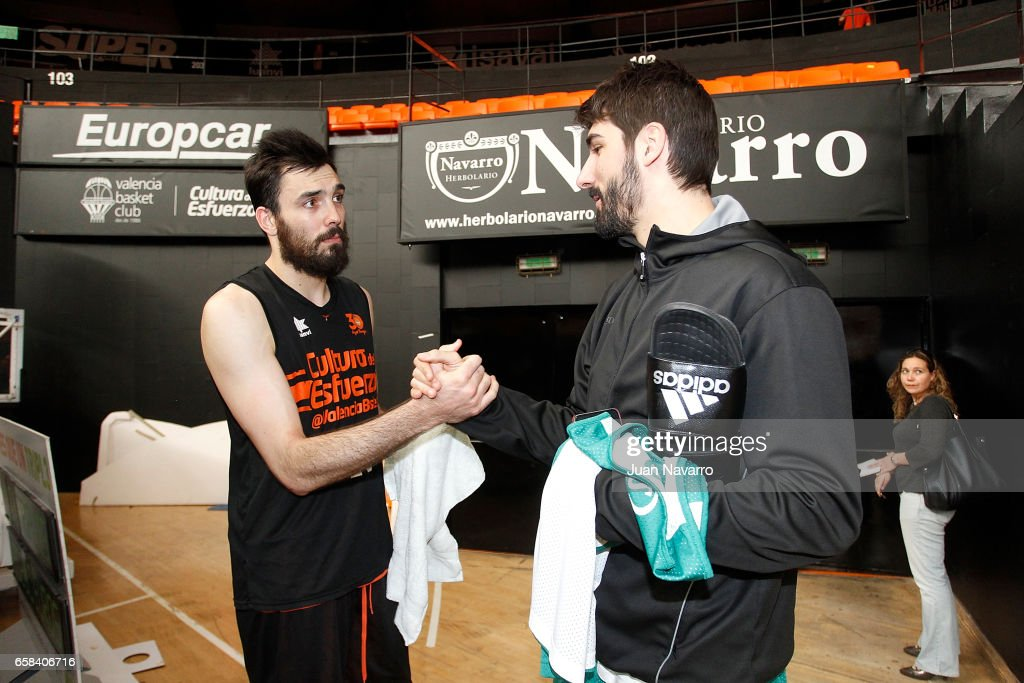 Valencia Training Session - EuroCup Basketball Finals