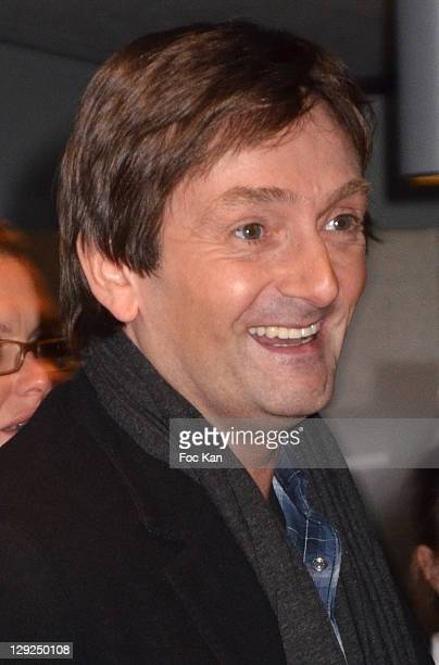 Pierre Palmade attends the 'Dracula L' Amour Plus Fort Que La Mort' Musical ComedyArrivals at the Palais des Sports on October 14 2011 Paris France