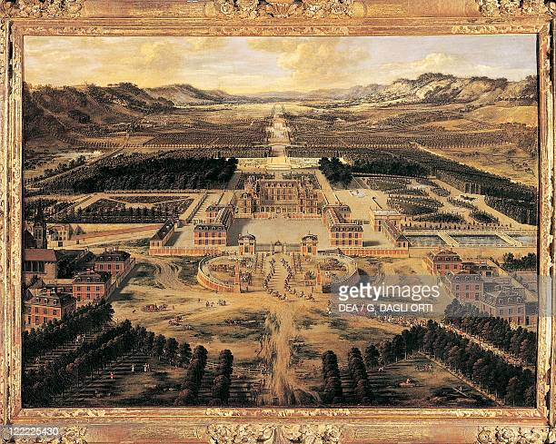 Pierre Patel The Palace of Versailles and its Gardens 1668