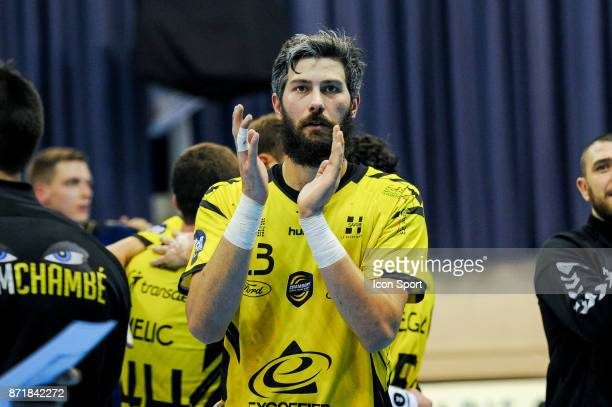 Pierre Paturel of Chambery during the Lidl Starligue match between Massy and Chambery on November 8 2017 in Massy France